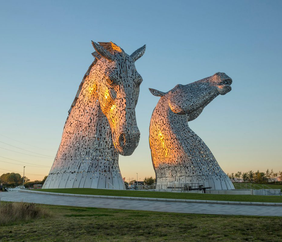 Kelpies near Cook's Bar & Kitchen